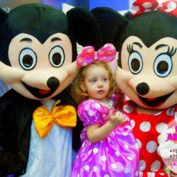 ростовые куклы микки и минни маус на день рождения