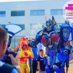 шоу роботов трансформеров детям