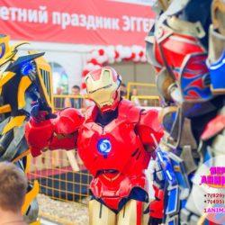 шоу роботов - трансформеров на детский праздник