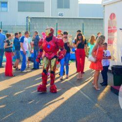 шоу роботов - трансформеров на праздник в детский сад