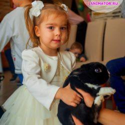 шоу с дрессированными животными на детский день рождения