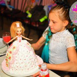 Торт Барби на день рождение