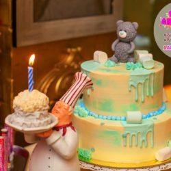 торты и аниматор на день рождения