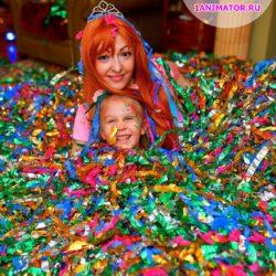 бумажное шоу на праздник детям