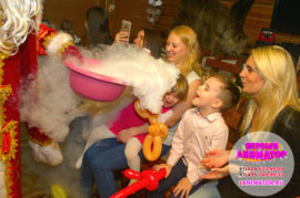 аниматоры дед мороз и снегурочка для детей Дмитров