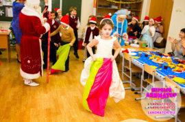 дед мороз и снегурочка в школу Дзержинский