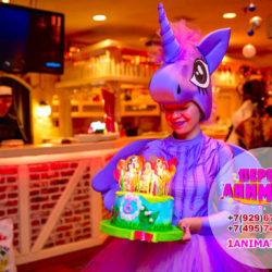 аниматор литтл пони искорка для детей на день рождения