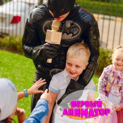 аниматор бэтмен для ребенка на день рождения