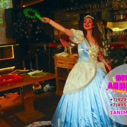 аниматор золушка и шоу мыльных пузырей на детский праздник
