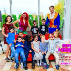 аниматор русалочка и эрик для детей на день рождения