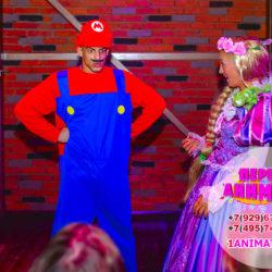 аниматор Марио на детский день рождения