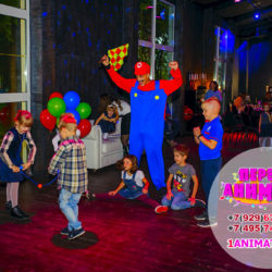аниматор Марио на детский праздник