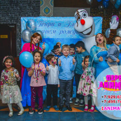 аниматор Снеговик на детский день рождения
