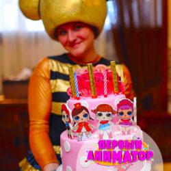 аниматоры Куклы Лол на день рождения ребенка