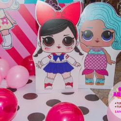 аниматоры Куклы Лол на детский праздник оформление