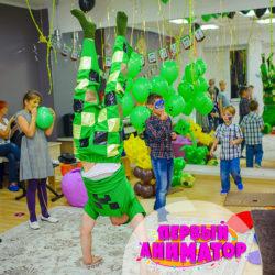 аниматоры майнкрафт на день рождения