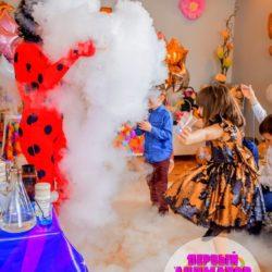 научное шоу для детей на день рождения