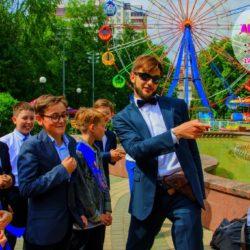 детский аниматор агент 007 на выпускной