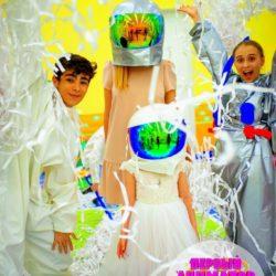 бумажная дискотека детям на праздник
