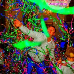 цветная бумажная дискотека для детей