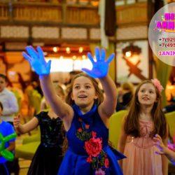 неоновое мыльное шоу для детей на праздник