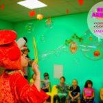 шоу мыльных пузырей для детей