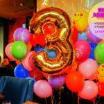 гелиевые шары на день рождения ребенка