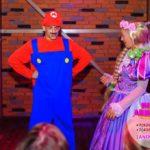 аниматоры рапунцель и супер марио на детский праздник
