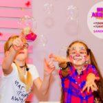 мыльное шоу для детей на день рождения
