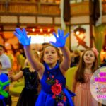 неоновое шоу мыльных пузырей для детей