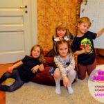 детский праздник дома с аниматоры