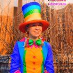 аниматор клоунесса на детский праздник
