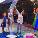 мыльное шоу на детский день рождения