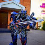 шоу роботов трансформеров в москве и московской области