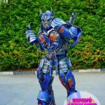 шоу роботов трансформеров на день рождения