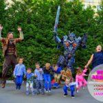 шоу роботов трансформеров для детей