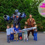 шоу роботов трансформеров для детей на мероприятие