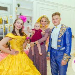 Принц и принцесса в гостях