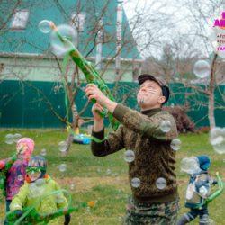 Аниматор Военный спецназ на детском празднике
