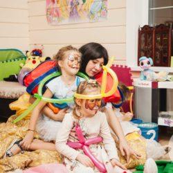 Белоснежка на детском празднике