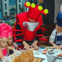 Вспыш и чудо на детском празднике