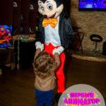 День рождения с Свинкой Пеппой и с Микки Маусом