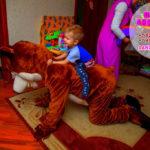 Маша и Медведь съездили на день рождения к Диме