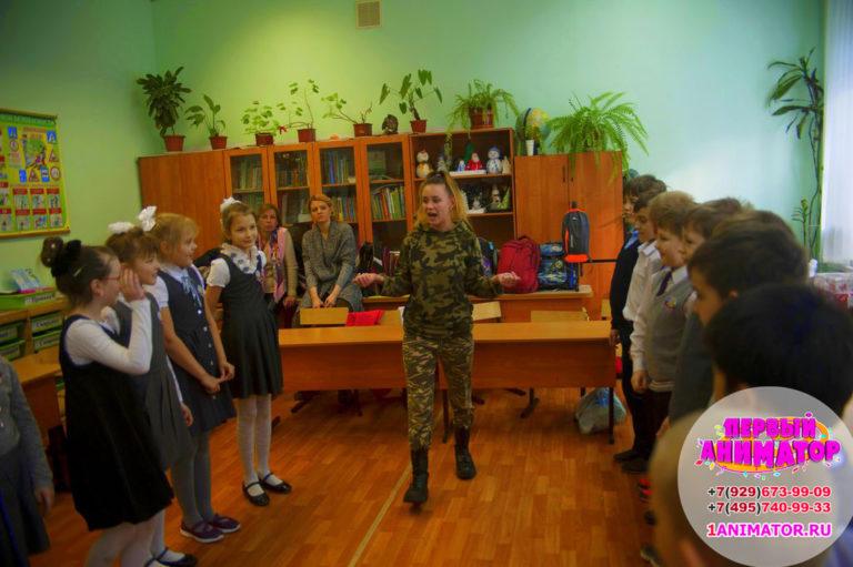 Аниматоры Военный спецназ на день рожденияАниматоры Военный спецназ на день рождения