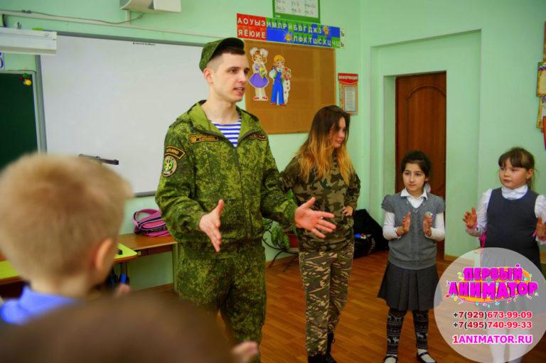 Топовые Аниматоры Военный спецназ москва