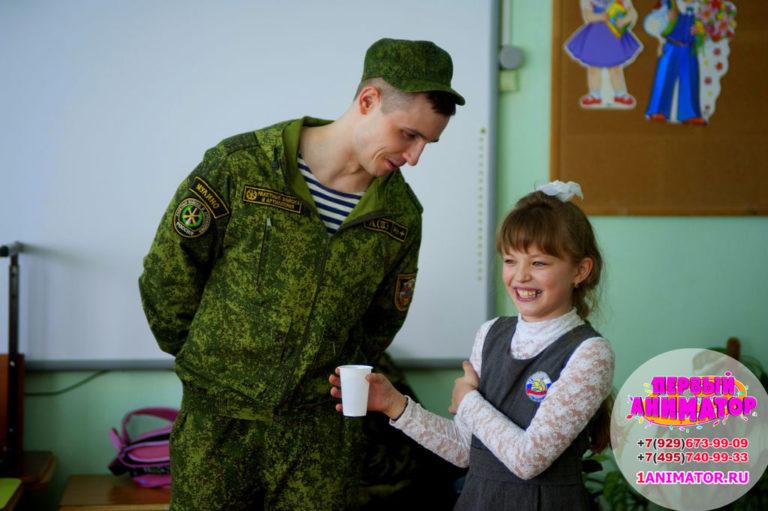 детские аниматоры Военный спецназ москва